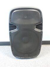 "Professional Portable 15"" Speaker System 150W 4 Ω Ohm EQ USB SD LED BLUETOOTH PA"