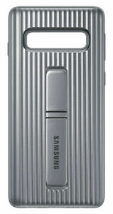 Samsung Protective Standing Cover for Galaxy S10 - SILVER GENUINE ITEM OPENED