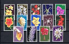 Nevis 1984 Satz 168/81 Blumen/Flowers schon Postfrisch