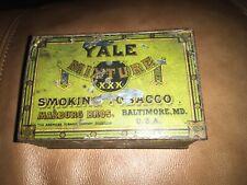 Vintage Yale Mixture Smoking Tobacco's Tin
