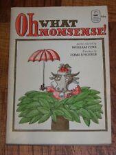 B002GWLUZO Oh What Nonsense! (Viking Seafarer Books)