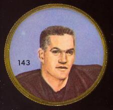 1963 CFL NALLEY'S FOOTBALL COIN #143 NUB BEAMER EX-NM B C LIONS OREGON STAT