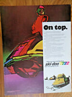 1972 Ski-Doo Snowmobile Ad   On Top