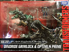 Transformers Takara Movie Annivesary MB-09 Dinoride Grimlock & Optimus Prime NEW