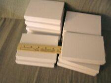 "12 Jewelry Boxes w/ soft padding on the inside Od 5 1/2"" X 4"" Id 3 7/8"" X 5 3/8"""
