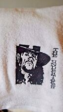 "LOVELY EMBROIDERED IMAGES BATH TOWEL  "" THE UNDERTAKER"" WRESTLING SUPERSTAR"