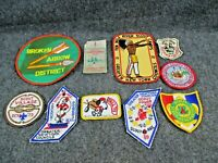 Group of 10 Vintage Boy Scout Patches (Lot E)