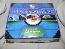 mcgraw hill sra real math planner technology grade 2  new and sealed