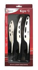 Richardson Sheffield Kyu Set of 3 Luxury Stainless Steel Cheese Knives
