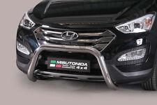 "Hyundai Santa Fe 2012-UP Ø76mm BULL BAR NUDGE BAR LEGAL""CE APPROVED"" Frontbügel"
