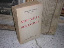 1941.XVIIIe & romantisme / bellessort.envoi autographe