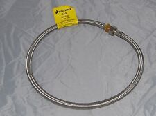 """1/2"""" Flexible Gas Hose 900mm Male and Female stainless steel"""