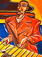 MILT JACKSON PRINT poster vibraphone modern jazz quartet live music inn cd mjq