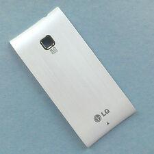 100% ORIGINALE LG OPTIMUS GT540 Batteria Cover Posteriore Alloggiamento Posteriore FASCIA BIANCA