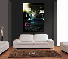 Drive Ryan Gosling MOVIE FILM mozzafiato Giant WALL ART PRINT PICTURE POSTER