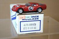 PROVENCE MOULAGE 1965 ALFA ROMEO GTZ II LE MANS 42 ar