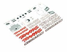 TRAXXAS SPARTAN BOAT VXL-6S Hull & hatch factory decals sheet