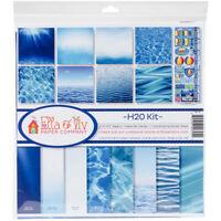 "Reminisce Ella & Viv Collection Kit 12""X12""-H2O, EAV795"