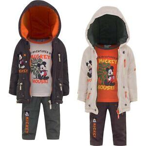 Abbigliamento bambino Topolino giubbino maglia pantalone neonato 6 12 18 24 mesi