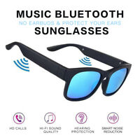 Smart Bluetooth 5.0 Sunglasses Glasses Headphones Music Headsets Stereo Micphone
