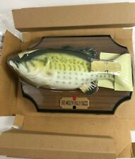 1999 Gemmy Big Mouth Billy Bass Singing Sensation 2 Songs New No Outer Box