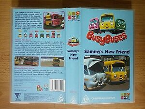 Busy Buses - Sammy's New Friend VHS Video - 2003 ABC For Kids