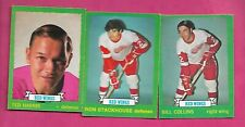 1973-74 OPC DETROIT RED WINGS  CARD LOT (INV# C2888)