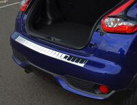 For Nissan Juke (2014+) - Chrome Rear Bumper Protector Scratch Guard