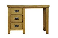 BUXTON OAK DRESSING TABLE-3 DRAWERS-IN STOCK-PEDESTAL OFFICE DESK-RRP £499