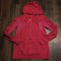 LULULEMON LEADER OF THE TRACK  Pullover HALF ZIP JACKET IN BRIGHT PINK SIZE 4