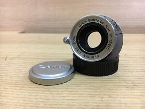 Near Mint Canon 50mm/F3.5 collapsible lens L39 LTM Leica Screw Mount / JPN