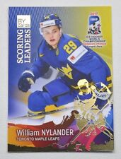 2017 BY cards IIHF WC Scoring Leaders #05 William Nylander #/20