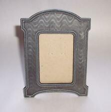 Vintage Decorative METAL Pewter PICTURE Photo FRAME Freestanding