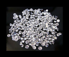 25 STONES OF 1MM EACH NATURAL ROUND BRILLIANT LOOSE WHITE POLISHED DIAMOND FG-VS