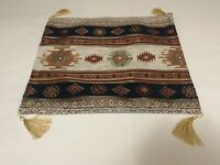"Boho Turkish Moroccan Cushion Cover Sofa Pillowcase 17"" X 17"" Inches  Fast Ship"