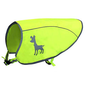 Alcott Essentials Visibility Dog Vest, Large, Neon Yellow with Reflective