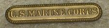 "USMC top suspension bar ""U.S. Marine Corps"""