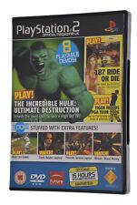 PlayStation 2 PS2 Games Demo Official UK Magazine #63 Tekken 5 God of War Juiced