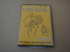 Modern Coin Magic - 4 DVD set- Item