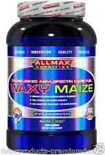 NEW ALLMAX NUTRITION WAXY MAIZE CROSS LINKED AMYLOPECTIN CARB FUEL VEGAN POWDER