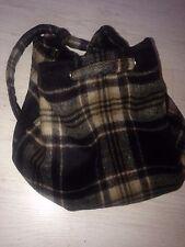 SHANDON OF CORK Irish Wool Donegal Tweed Wool bag backpack Ireland new.