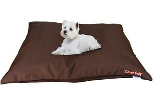 """Do It Yourself DIY Durable Waterproof Brown Pet Dog Cat Bed Cover 48""""x29"""" Large"""
