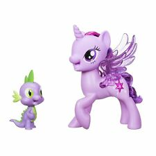 MY LITTLE PONY Princess Twilight Sparkle Spike the Dragon Friendship Duet Set