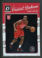 2016-17 PASCAL SIAKAM PANINI DONRUSS OPTIC ROOKIE RC #171