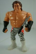 WWF WWE Hasbro BRUTUS THE BARBER BEEFCAKE Zebra Wrestling action figure Complete