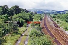PHOTO  1996 SITE OF FORMER DIGGLE RAILWAY STATION VIEW WESTWARD FROM ABOVE THE W