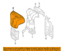TOYOTA OEM 01-03 RAV4 2.0L-L4 Manifold-Exhaust-Heat Shield 1716728010