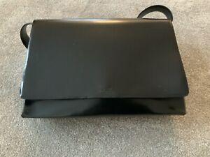 Handtasche Leder Patterson schwarz Ganz glatt (786)