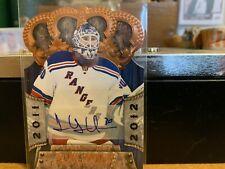 2011-12 Panini Crown Royale Henrik Lundqvist Autograph #'d 88/99 + 19 Cards