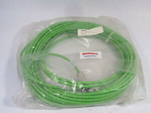 Beckhoff ZK4000-2610-22 Green Encoder Cable Assembly 8X2X0.14mm 20M ! NWB !